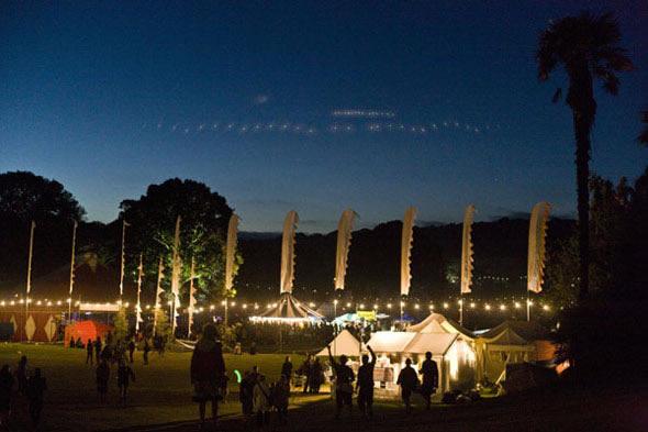 Night at Port Eliot Festival